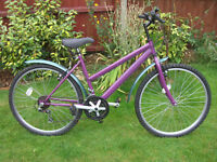LIKE NEW LADIES MOUNTAIN BIKE ONE OF MANY QUALITY BICYCLES FOR SALE