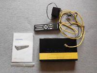 GrundigFreesat HD digital box and satellite dish