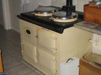 Cream oil-fired AGA for sale