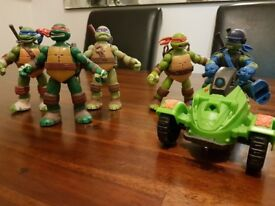 Full set of Teenage Mutant Ninja Turtles