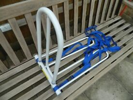 Bed Grab Rail Handle Bar - Mobility Aid with fixing straps