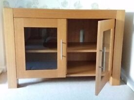 Solid wood sideboard cabinet excellent condition