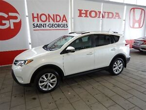 2014 Toyota RAV4 XLE Limited GPS CUIR TOIT OUVRANT MAGS