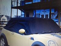 Mini Half car cover - all weather proof - custom made - from UK Custom Car Company