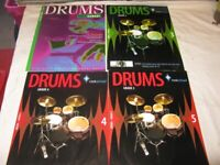 Rock School Drum Tuition Books x 4