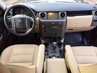 LHD LEFT HAND DRIVE LAND ROVER DISCOVERY 3 HSE 2.7 TDV6 4X4 BLACK AUTOMATIC XENON LEATHER IMMACULATE