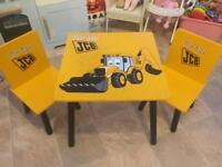 Very Much Loved JCB Table and Chairs