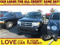 2011 Ford Escape XLT * CAR LOANS FIT YOUR YOUR BUDGET