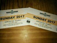 2 x Goodwood Festival of Speed tickets - Sunday