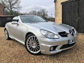 Mercedes SLK55 AMG *Watch Video* 40k Miles Recent Brakes AirScarf Nav Exhaust Heated Seats Long MOT