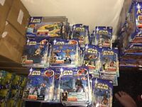 Wholesale joblot collectible star wars figures