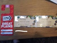 Kendal Calling - Great Plains camping tickets 2x adults 1x child under 5