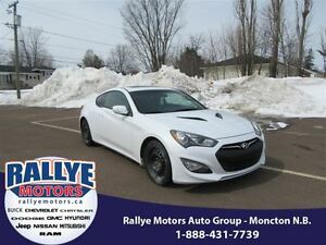2015 Hyundai Genesis Coupe 3.8 Premium! Back-Up! Nav! Sunroof! H