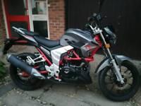 Lexmoto Venom SE 125 Motorbike