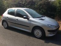 PEUGEOT 206 ENTICE - 53 REGISTERED - 5 DOOR - CAMBELT CHANGED