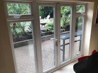 Glass PVC Double Glazed Doors