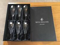 Royal Doulton Dorchester Wine Glasses