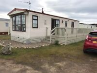 STATIC CARAVANFOR SALE AT SILVER SANDS, LOSSIEMOUTH