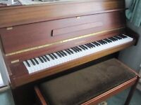 Chappell piano c. 1975 (with double stool)