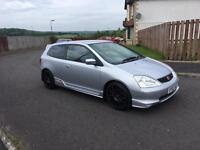 HONDA CIVIC TYPE-R,LONG MOT,LOW MILES,£2295
