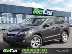 2013 Acura RDX AWD | HEATED LEATHER | BACK UP CAM | SUNROOF