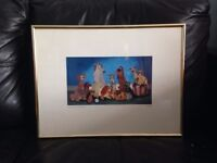 Limited edition disney film Lady and the Tramp picture