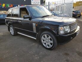 Land Rover Range Rover 3.0 Td6 Vogue 5dr **BLACK WITH BEIGE LEATHER GREAT COMBINATION**4X4 SEASON**