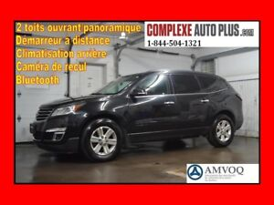 2014 Chevrolet Traverse 1LT AWD 4x4 LT *2 Toits Ouvrant/Panorami