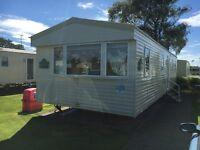 Deluxe 7 Berth Caravan Available in the Haven Craig Tara Holiday Resort Ayr