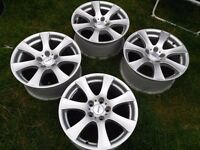 "17"" 5x120 Altec BMW alloy wheels like new"