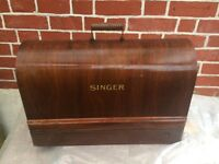 Industrial Singer sewing machine - W12 area