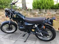 Sinnis trackstar 125cc 2012 motorcycle