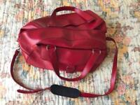Red M&S Travel bag