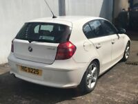 Totally mint Oct 2009 BMW 116D Sport 5dr , only 1 owner, trade in considered ,credit cards accepted