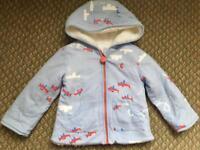 Joules hoodie 12-18months