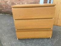 Chest of drawers w