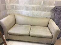 Elegant 2 Seater Neutral Sofa