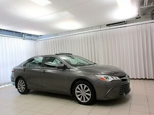 2015 Toyota Camry XLE SEDAN w/ BLUETOOTH, BACKUP CAM AND ALLOYS