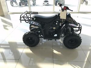 New 110cc Entry Level Kids/Teen ATV Quad Automatic 4 Stroke - Metal Racks + Remote Kill Switch