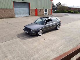 VW Golf 1.8 GTI with 2.0 ABF conversion with twin Webber 45 Carbs