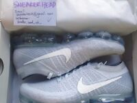 SELLING Nike Air VaporMax Flyknit Pure Platinum UK SIZE 9/US SIZE 10