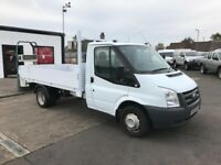 10 Ford Transit T350 MWB Alloy Dropside Pick Up
