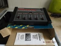 maplin stereo mixer model sa-700 in good condition still in box