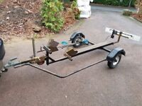 Motorcycle trailer forsale.