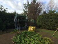 Henchman 75 wheeled Garden Hedge cutting or DIY platform