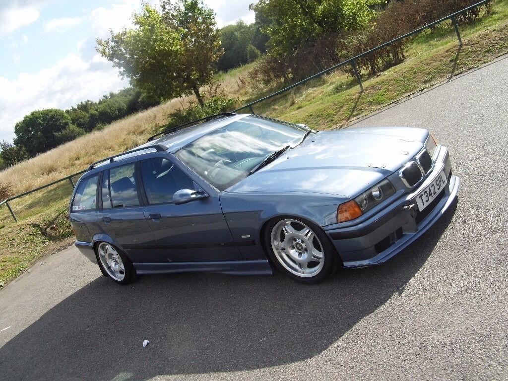BMW E36 Touring 323i 325 Clean Slammed Drift Track Car ...