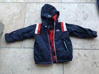 Children's HH ski coat Blue Age 5 / 110 cms