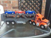 Kids transporter truck