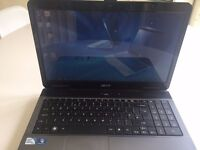 "ACER ASPIRE 5332 Intel T3000 Dual Core cpu 4 gb ram 250 gb hdd 15.6"" screen dvdrw wifi Windows 10"