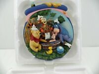 'bradford exchange'poohs hunnypot adventures, 11 fine ceramic plates with certificates.
